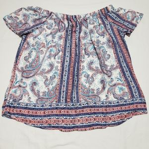 Renee C. Off Shoulder Blouse NWT